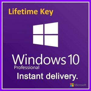 Windows 10 Pro 32/64 bit Product Key (Lifetime)