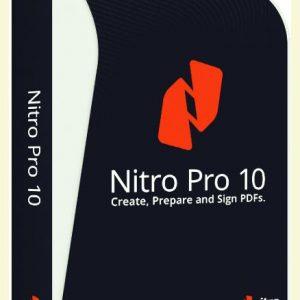 Nitro Pro 10 PDF Editor Lifetime 1PC Licence Key