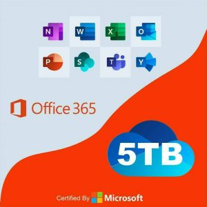 Office 365 Home for 5 PC/Mac+5TB OneDrive